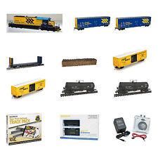 Premium Ontario Northland ONR Train Set  - Modern Scheme SD40-2 Bowser Loco DCC