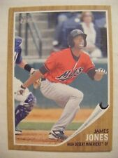 JAMES JONES MARINERS 2011 Topps Heritage Minors baseball card LIU-BROOKLYN #142
