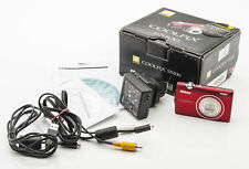 Nikon Coolpix S5100 rot Digitalkamera 12,2 MP Nikkor 5-25mm Optik OVP