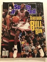 1990 Sports Illustrated CHICAGO Bulls MICHAEL JORDAN No/Label  FREE SHIPPING