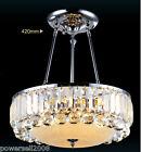 Modern Style 5 Lights E14 Diameter 42CM Stainless Steel+K9 Crystal Ceiling Light