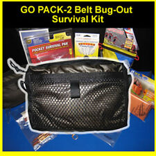 Go Pack-2 Belt Bug Out Survival & Medical Kit