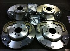 BMW 5 SERIES E39 BRAKE DISC FRONT REAR MEYLE PLATINUM BRAKE PAD SET HAND SHOES