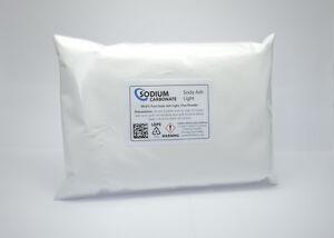 Sodium Carbonate Fine Powder - Soda Ash Light - 100g to 25kg