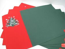Embroidered Christmas Tree Placemats  & Napkins Set of 4 each by Waechtersbach