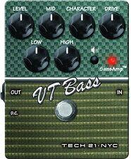 Tech 21 Vt Bass V2 Preamp-Pedal für Bass Gitarre - Ampeg SVT & B15 Sounds