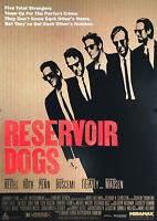 """Reproduction """"Reservoir Dogs"""" Poster, Quentin Tarantino, Home Wall Art"""