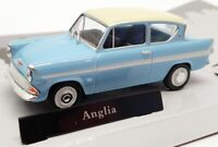 Cararama 1/43 Model Car Scale 417260 - Ford Anglia - Glacier Blue