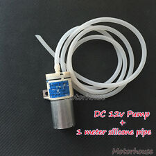 DC5V-12V 6V Small Mini 370 Motor Air Pump Oxygen Pump+1m Pipe Aquarium Fish Tank