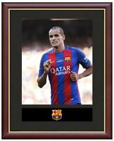 Rivaldo Mounted Framed & Glazed Memorabilia Gift Football Soccer
