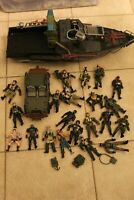 Lot of Chap Mei figures, boat and jeep huge wholsale lot river patrol