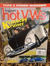Dune Buggies and Hot Vws Magazine August 2006 VW