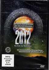 DVD 2012 Das Ende der Menschheit: Die Maya-Prophezeiung des Weltuntergangs | Neu
