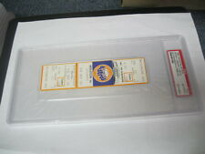 9/22/81Houston Astros vs.Braves at the Astrodome PSA Authentic Sutton vs Perry