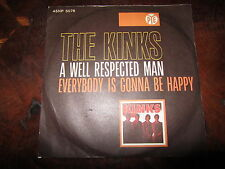 THE KINKS A WELL RESPECTED MAN Italy 1966 45 Archive Copy NM UNPLAYED