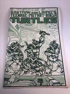 Teenage Mutant Ninja Turtles #4 (1st Printing) Mirage Comics