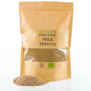 Organic Milk Thistle Powder Liver Detox Silymarin Silybum Antioxidant Vegan