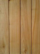 Timber/Wood Fine Sawn British Western Red Cedar Cladding CHANNEL