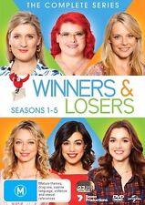 WINNERS and LOSERS : Season 1 2 3 4 5 : NEW DVD Box Set