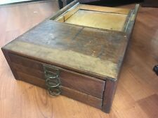 Oak Stacking File Section 3 Draws Brass Hardware Antique Panal Sides We can Ship