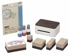 CASIO pomrie stamp maker Wi-Fi / USB PC support special SET STC-W10 From Japan