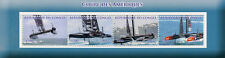 Congo 2017 MNH Americas America's Cup 4v M/S Sailing Boats Stamps