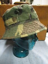 1970-80's Vintage camo bucket ro boonie Hat size large 7 1/4