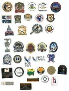 U.S. Open & PGA Golf Pins Pin Choice Travelers GHO TPC NEC Buick Masters Players