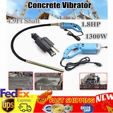 New 1300W Electric Concrete Vibrator Heavy Duty Remove Air Bubbles & Level Best