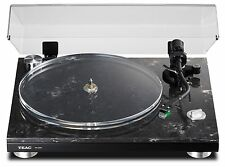 TEAC TN-570 Turntable w/cartr/24bit/192 Hi-Res optical/USB Out Marble-base TN570