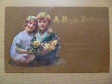 Greeting Postcard- A HAPPY BIRTHDAY, w.951