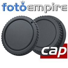Objektivdeckel & Rückdeckel Gehäusedeckel kompatibel mit Canon EF-S Objektiv