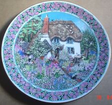 Royal Worcester Collectors Plate COTTAGE GARDENS - DEVONSHIRE COBB JUNE