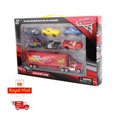 7PCS Cars 2 Lightning McQueen Racer Car&Mack Truck Kids Toy Collection Set Gifts
