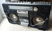 GHETTOBLASTER  RISING SRC - 2005  4 BAND STEREO RADIO-RECORDER  Super Jumbo