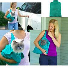 Portable Outdoor Cat Dog Pet Double Shoulder Mesh Bag Backpack Travel Carrier