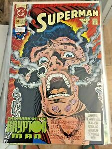 SUPERMAN #57 MARK OF THE KRYPTON MAN