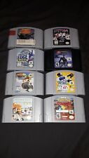 N64 8~Game🎮Lot Fighting Force Batman Beyond Pokemon Wave Race Star Wars Tested