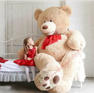 100cm-340cm Bear Skin Giant Toy American Bear Plush Teddy Bear Just Shell Cover
