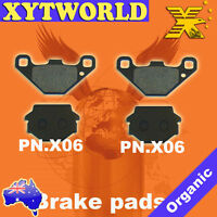 FRONT REAR Brake Pads for KTM EXC/EGS 250 Brembo Calipers 1989