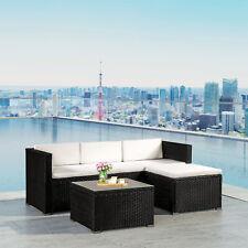 Gartenmöbel Polyrattan Lounge Sitzgruppe Rattan Gartenset Rattanmöbel ArtLife®
