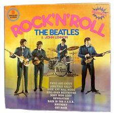 1975 Beatles 3 LP Box Set John Lennon Rock N Roll Original Import EMI 5408