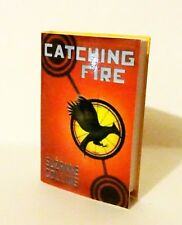 """Suzanne Collins' """"Catching Fire"""" faux mini book for Tonner, 16"""" dolls"""