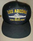 Vintage USS Arizona BB-39 Navy Military Baseball hat cap by Ed's West Hawaii