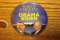 2008 Historical Election Collectable * NORTH Carolina for OBAMA BIDEN (PHOTO)