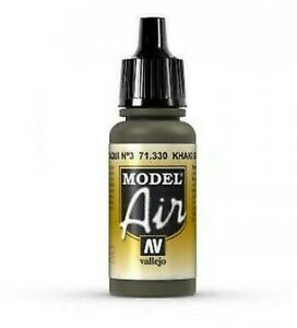 Av model air 17ml Kaki Vert Num.3 Peinture Acrylique #71330