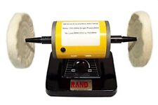 "RAND VARIABLE SPEED BENCH POLISHER / BUFFER- Polishing/Buffing Machine 5"""