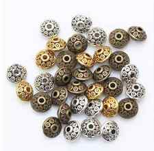 50Pcs Mixed Tibetan Silver Spacer Beads Fashion Jewelry Making