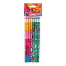 TROLLS PENCILS (8) ~ Birthday Party Supplies Stationery Favors DreamWorks Poppy