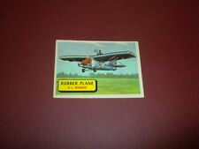 PLANES trading card #38 TOPPS 1957 Army Navy Marines Air Force WORLD AIRPLANES